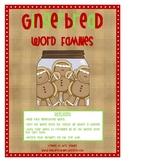 Gingerbread Short Vowel Word Families
