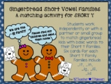 "Gingerbread Short ""i"" Word Families"