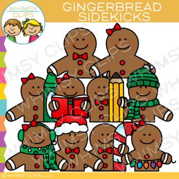 Sidekicks Gingerbread Clip Art