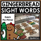 Gingerbread Sight Word Binder