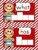 Gingerbread Sight Word Dry/Erase Activity Cards--52 cards