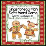 Gingerbread Sight Word Game (Dolch Word Lists 1-11) #Holly