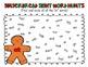 Gingerbread Sight Word Hunts