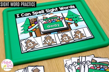 Gingerbread Sight Word Packet