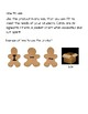 Gingerbread Sight Word Sentences