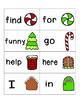 Gingerbread Sight Words! Complete Set of 220 Sight Words