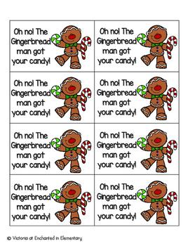 Gingerbread Sight Words! Pre-Primer List Pack