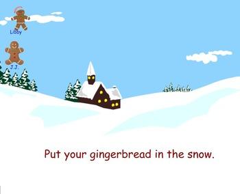 Gingerbread Smart Board Attendance