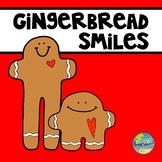 Gingerbread Smiles File Folder Game