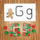 Gingerbread Snap Block Cards - Letters, Numbers, and Sight Words
