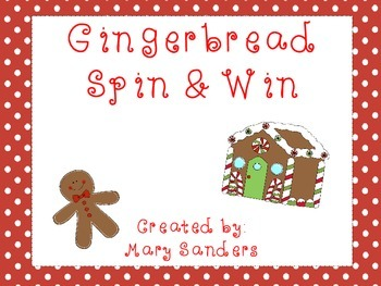 Gingerbread Spin and Win