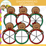 Spinners Gingerbread Clip Art