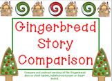 Gingerbread Man Story Comparison