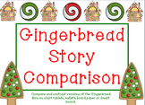 Gingerbread Man Story Comparison