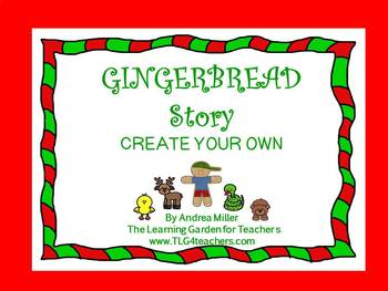 Gingerbread Story Create Your Own