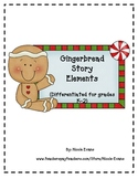 Gingerbread Story Elements Packet