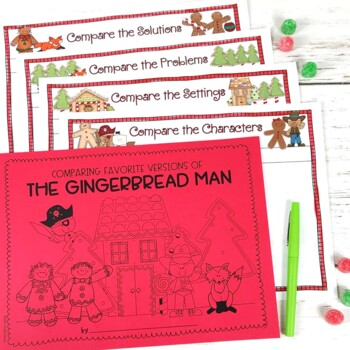 Gingerbread Story Elements {For Favorite Versions of The Gingerbread Man!}