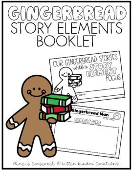Gingerbread Story Elements Reader
