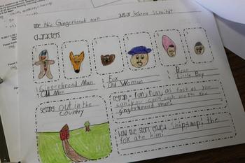 Gingerbread Story Map {FREEBIE}