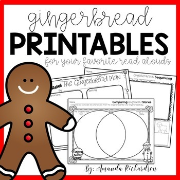 graphic regarding Gingerbread Printable titled Gingerbread Routines and Printables