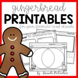 Gingerbread Activities and Printables