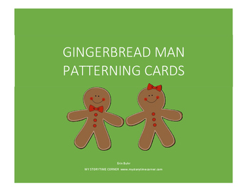 Gingerbread Story Time Printables