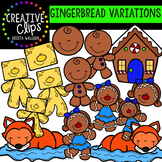 Gingerbread Clipart: Story Variations {Creative Clips Clipart}