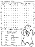 Gingerbread Story Word Search