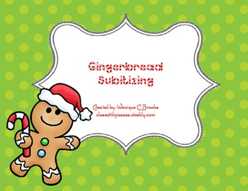 Gingerbread Subitizing
