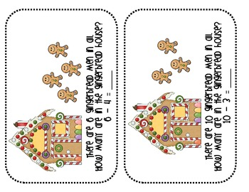 Gingerbread Subtraction Pack: CC-Aligned