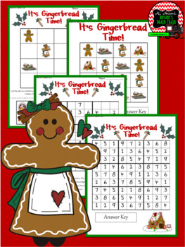 Gingerbread Sudoku Puzzle Bundle