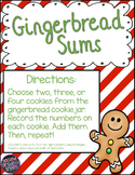 Gingerbread Sums (2-Digit Addition Center)