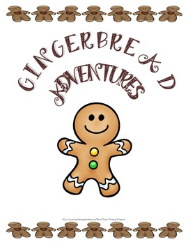 Gingerbread Take Home Journal Craftivity