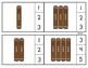 Gingerbread Tallies through 20 Clip Cards