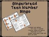 Gingerbread Teen Number Bingo!