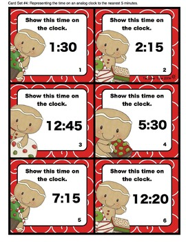 Telling Time: Gingerbread