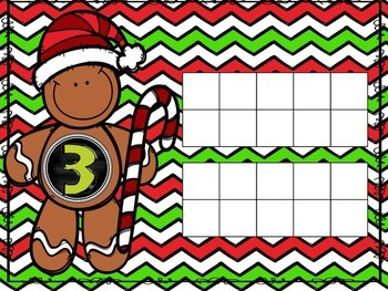 Gingerbread Ten Frame 1-20