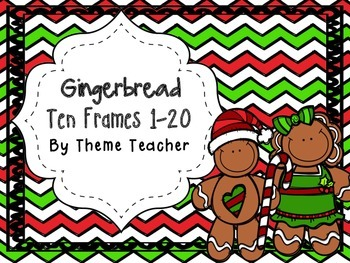 Gingerbread Ten Frame 1-20