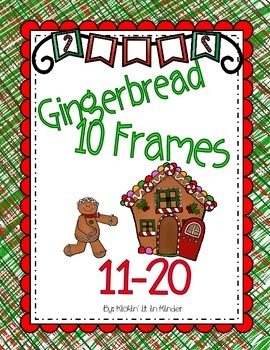 Gingerbread Ten Frame Counting Book 11-20