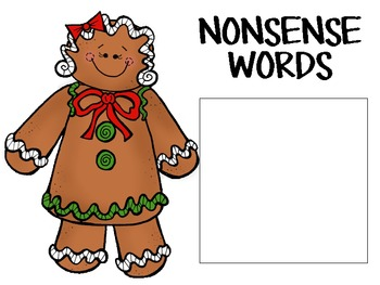 Gingerbread Theme Digraph Sorting Activity