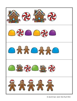 Gingerbread Themed Learning Centers