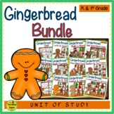 Gingerbread Themed Literacy & Math Bundle