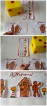 Gingerbread Themed Math and Reading Preschool and K FuN!