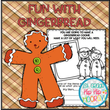 Gingerbread Themed Reading, Writing, Mathematics and more!