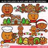 Gingerbread Toppers Clip Art