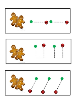 Gingerbread Tracing Activity