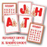 Gingerbread Tracing and Bingo