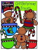 Gingerbread Clipart Treats {Creative Clips Clipart}
