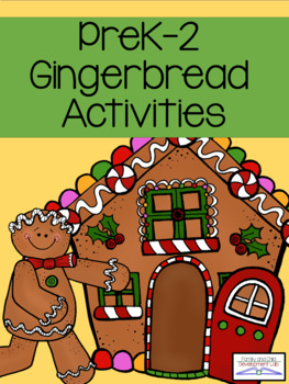 Gingerbread Unit Bundle of Christmas Activities