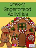 Gingerbread Unit Bundle of Christmas Activities